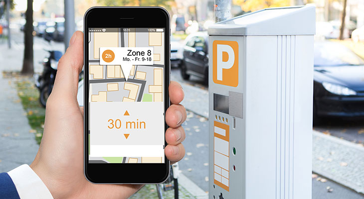 Applications Parking maps