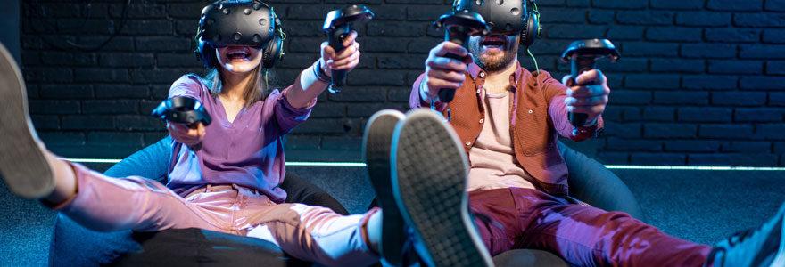 Simulateur de réalité virtuelle